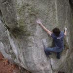 Adam Ondra bouldering in Fontainebleau, France – Part 2