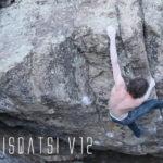 David Graham makes the 2nd ascent of Koyaanisqatsi V11