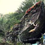 Fred Nicole bouldering in Switzerland