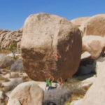 So High, V6/R  Joshua Tree, CA High Ball Bouldering