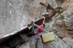 Jon Glassberg – Boulder Canyon – The Right (V13)