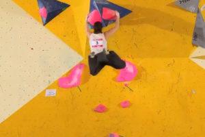 Escalade – Championnats de France Bloc Séniors 2013