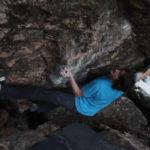 Ice Knife (V15) First Ascent