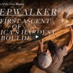 Sleepwalker (8C+/V16) First Ascent